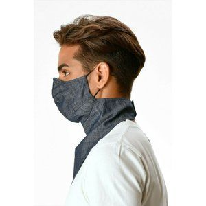 eShakti Other - New eShakti Face Masks Cotton Chambray Bandana